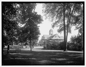 Casino (park side), Belle Isle, Detroit
