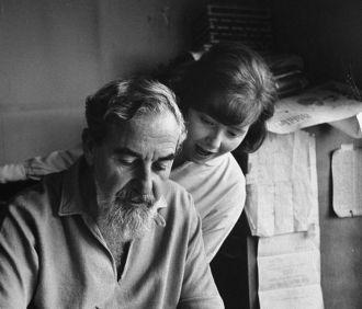 Nina and Albert Hirschfeld
