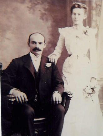 William & Emma (Baker) Milhizer, New York 1901