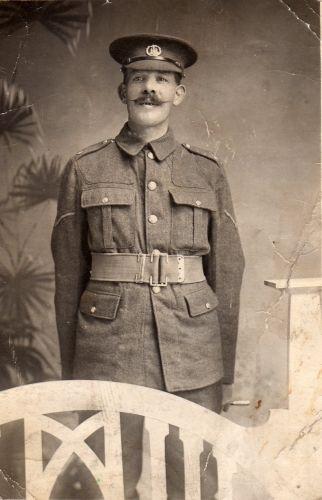 Lance Corporal Alfred Edward Naunton, 1915
