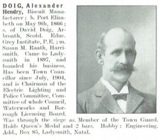 Alexander Hendry Doig