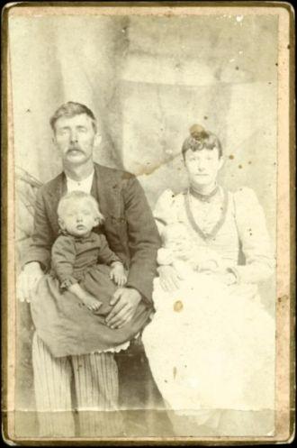 Possible Samual Washington Atkinson and family