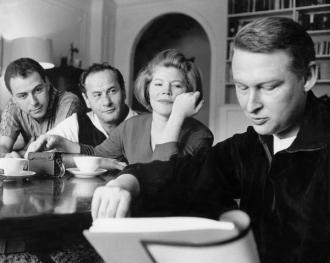 Anne Jackson, Alan Arkin, Eli and Mike Nichols