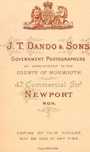 J.T.Dando, Welsh Photographer