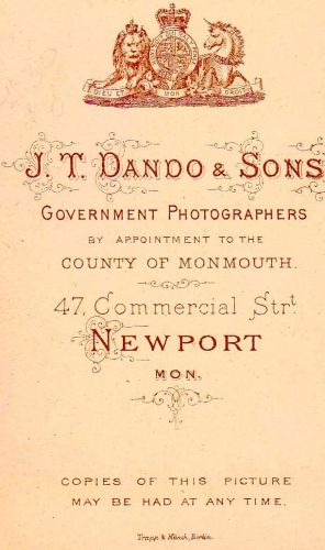 J.T.Dando, Welsh Photographer