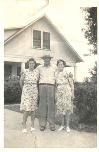 David & Fannie Johnson,  Anna Johnson George