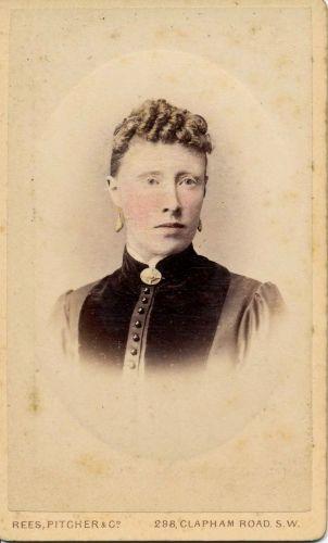 Louisa Dew c. 1889