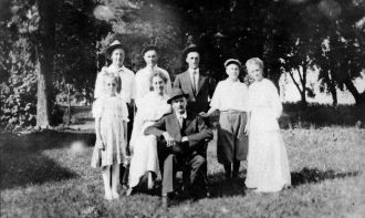 Ulric Morgan Jacobson family