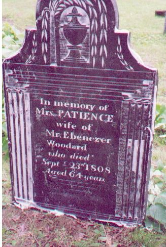 Grave of Patience Orms Woodward