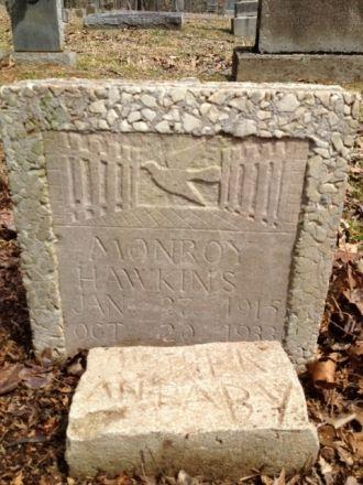 Monroy Hawkins gravesite, Tennessee