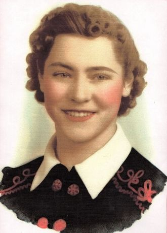 A photo of Norma Jean (Roos) Dettmer