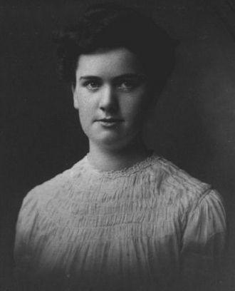 A photo of Bertha Alice Wells
