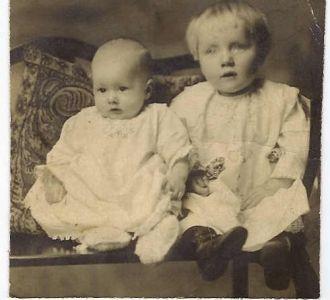 Doris and Elena Russell