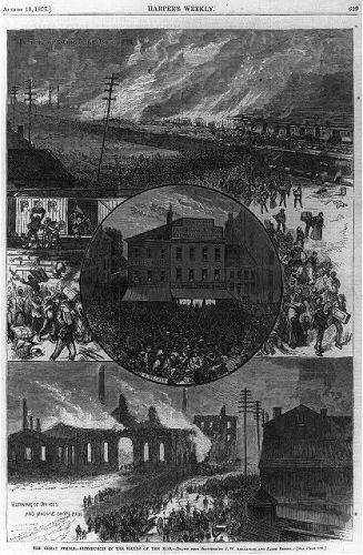 The Great [railroad] Strike [Pittsburgh, Pa. 1877]:...