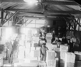 Whiskey warehouse