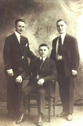 Three of the brothers