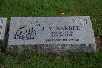 J. Y.  Barbee gravesite