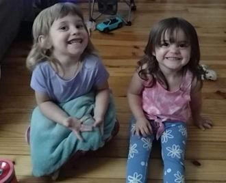 Brandon's daughters