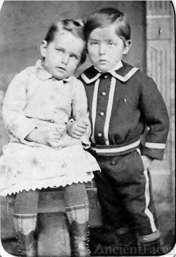 Unknown girl & boy in Frederick, MD