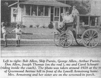 Neighborhood (Greenwood Avenue) Kids on Coach