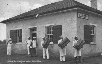 Indian bakery at Carlisle, PA