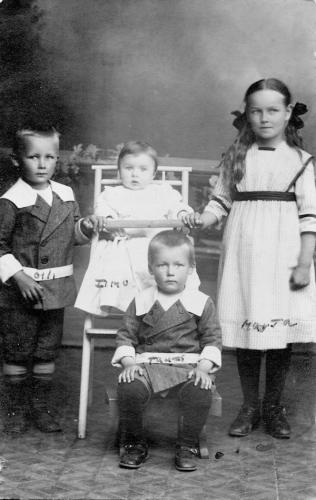 Finnish children in 1914