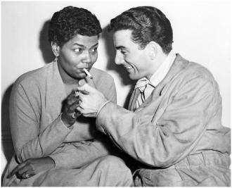 Pearl Bailey and Louie Bellson.