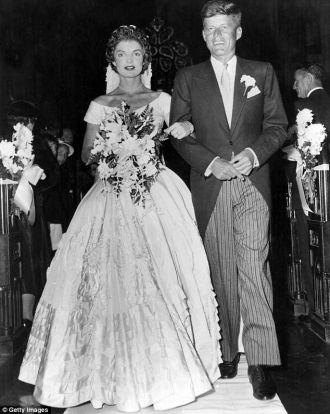 Jack and Jackie Kennedy Wedding