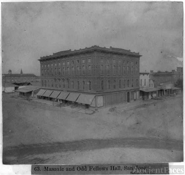 Masonic and Odd Fellows Hall, CA
