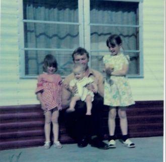 Mary L Reidt, dad & siblings