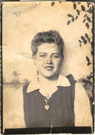 Marie Oliver Belcher c 1947