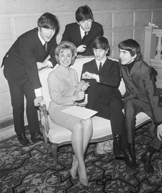 Joyce Brothers and the Beatles