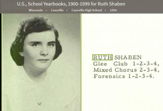 Ruth Ann (Shaben) Pogue