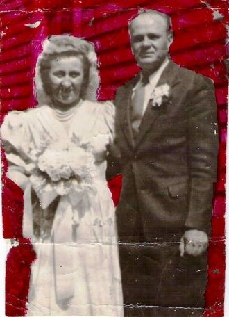 Joseph T. & Stella T. (Niziol) Rynkiewicz Wedding