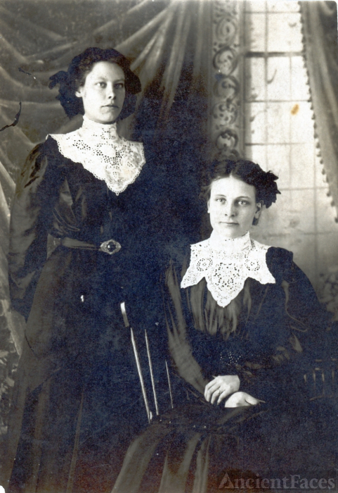 Two Victorian Ladies