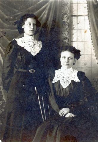 Two Victorian Ladies
