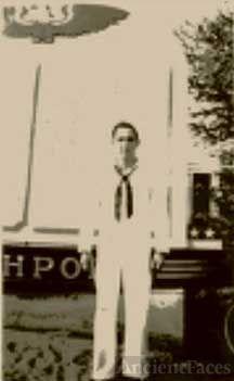 A sailor, Ken Small