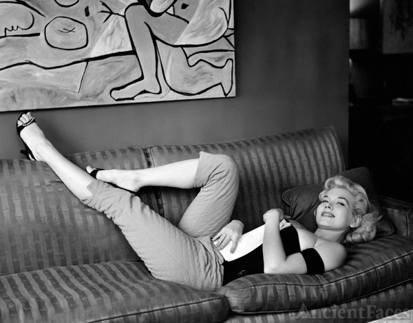 Marian Stafford 1956