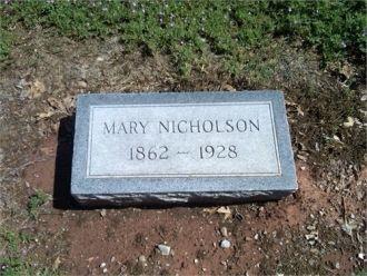 Mary Francis Nicholson