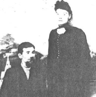 Robert Dan Bruno and Fannie Louisa Draper