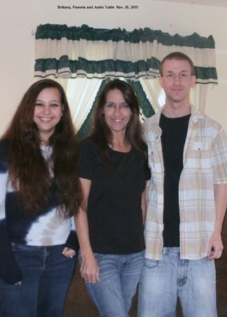 Brittany, Pam and Justin Tuttle