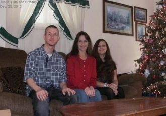 Justin, Pam and Brittany Tuttle, 2013