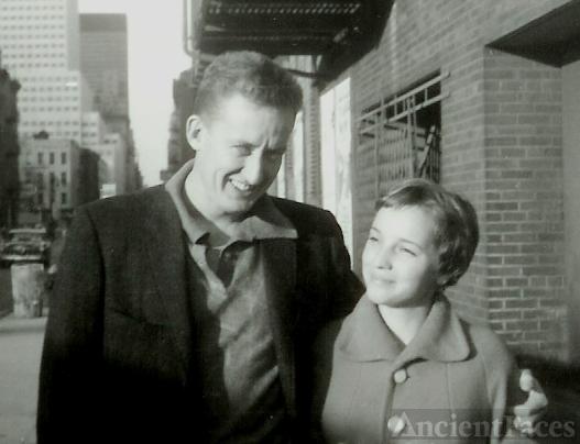 Tom Poston and Amanda Stevenson