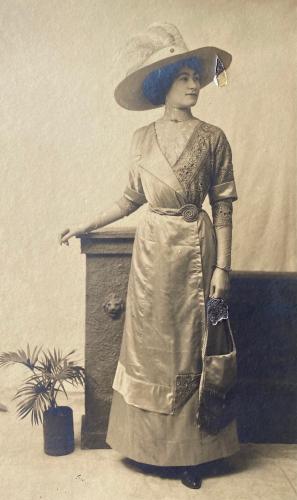 Flora Adelaide Buckler (nee Hunt) from Wangaratta
