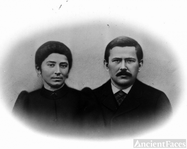 Alexandre Roth & wife Louise Doniat