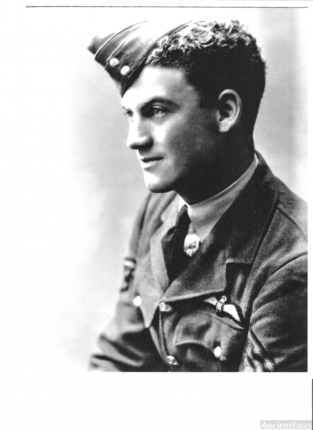 Sergeant Aynsley S Forbes, 1940