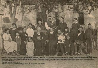 Miner Grant Prisbrey family