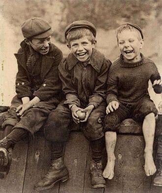 Three Happy Boys