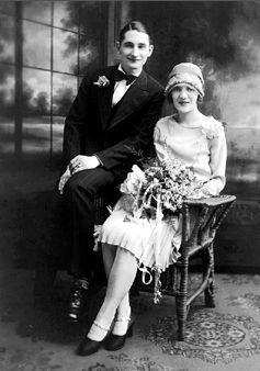 William & Rose (Falque) Barthel, Wisconsin 1927