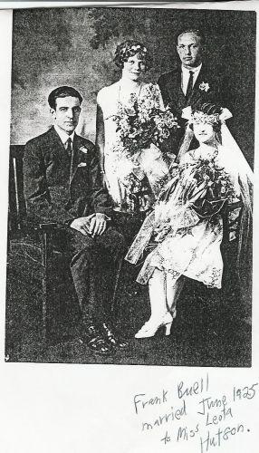Buel/Hutson Wedding 1925